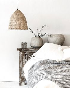 This amazing bamboo light shade or suspension with serious soul is a real eye-catcher to any home interior or public space, living room, kitchen, terrace or bedroom Ibiza Style Interior, Home Interior Design, Ethnic Decor, Boho Decor, Spanish Bedroom, Living Room Decor, Bedroom Decor, Bedroom Inspo, Bedroom Ideas