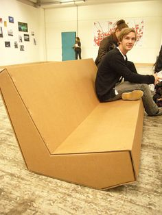 Furniture for the home - Cardboard furniture at Ars 2010