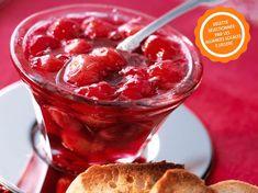 Confiture de cerises Jelly, Raspberry, Cherry, Gluten, Sweets, Vegetables, Desserts, Food, Insert