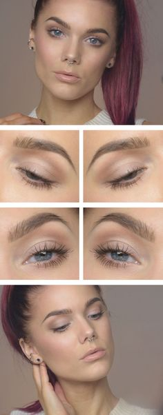 Natural makeup from Limda Hallberg