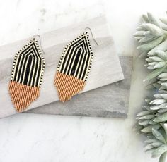 Jewelry OFF! Fringe Earrings Copper Tassel Earrings Boho Jewelry Beaded Earrings Gift for Her Anthropologie Inspired Seed Bead Jewelry, Seed Bead Earrings, Fringe Earrings, Beaded Earrings, Boho Jewelry, Seed Beads, Jewelry Gifts, Beaded Jewelry, Handmade Jewelry