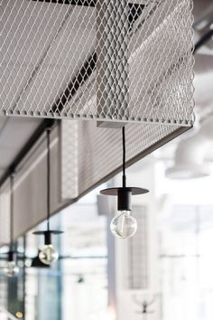 Usine is a minimalist restaurant interior located in Stockholm, Sweden, designed by Designer Richard Lindvall. Bistro Design, Bar Design, Deco Design, Restaurant Concept, Restaurant Design, Restaurant Bar, Modern Restaurant, Cafe Bar, Cafe Industrial
