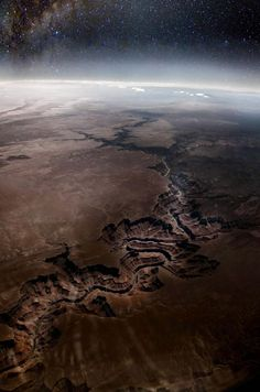 GRAND CANYON!! photos from space.