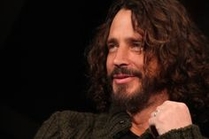 Chris Cornell--has a really compelling voice and his eyes are kind of mesmerizing.