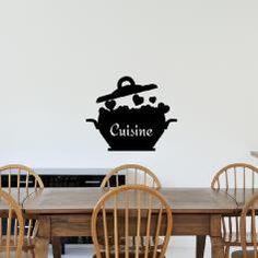 Real Men Wear Tabliers Cuisine Vinyle Mur Art Autocollant//cuisine//salle à manger