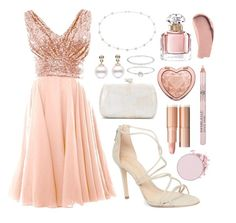 """""""Untitled #97"""" by lynetteg1217 ❤ liked on Polyvore featuring Schutz, Blue Nile, Guerlain, Burberry, Too Faced Cosmetics, Accessorize and Serpui"""