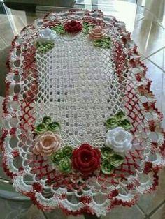 Home Decor Crochet Patterns Part Crochet World, Crochet Art, Crochet Home, Thread Crochet, Filet Crochet, Crochet Crafts, Yarn Crafts, Crochet Projects, Diy And Crafts