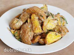 Fotorecept: Pečené zemiaky s omáčkou na francúzsky spôsob