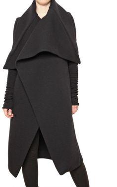 Love this: Wool Jersey Neoprene Coat @Lyst