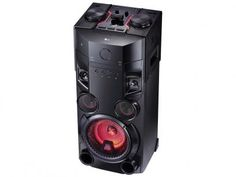 Mini System LG X Boom Festa Bluetooth CD Player - Rádio AM/FM 500W USB MP3 Karaokê OM5560 com as melhores condições você encontra no Magazine Radisha. Confira!