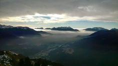 vista dal Monte Talm direzione sud