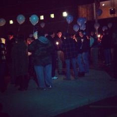 A school coming together for a tragedy <33