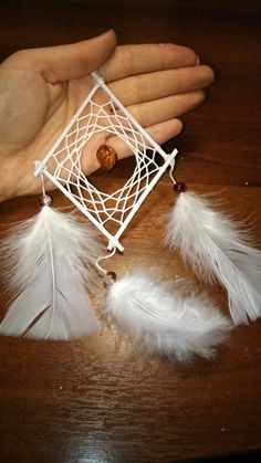 Square/diamond dream catcher style