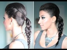 Edgy hairstyle video tutorial