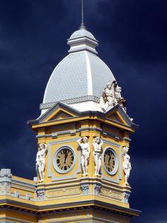 Torre da Estação de Trem de BH | Fotografia de Rodrigo Dias | Olhares.com
