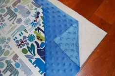 I think I might actually be able to follow this tutorial - how to make a baby blanket.