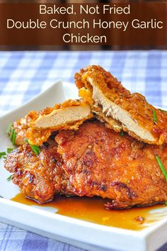 Rock Recipes NUMBER ONE recipe of al… Double Crunch Honey Garlic Chicken Breasts. Rock Recipes NUMBER ONE recipe of all time. There is a very good reason why this recipe has been seen millions of times online! Honey Garlic Chicken, Baked Chicken, Turkey Recipes, Chicken Recipes, Cooking Recipes, Healthy Recipes, Cheap Recipes, Delicious Recipes, Keto Recipes