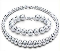 Tiffany Outlet Round Bead Bracelet and Necklace Like, Comment, Repin !!