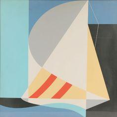 "Abstract Sailboat John Vassos - Style - Art Deco Style ""Art Deco"" - WikiArt.org"
