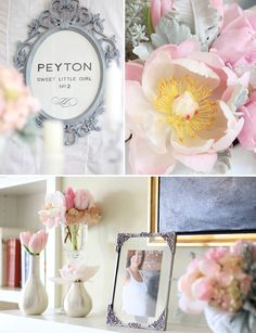 Coco Chanel inspired baby shower! Love the use of Peyton No. 2, so creative :)