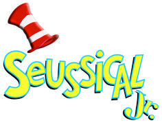 BROADWAY JUNIOR Seussical Showkit - 60-min. shows for middle school/jr. high. Kits include 30 Student Books, 2 Rehearsal/Accompaniment CDs, Piano/Vocal Score, Director's Guide, Choreographic DVD, 30 Family guides, and contract for 1-year Performance Rights.  Please note: Showkit licenses only available to accredited elementary and middle schools.