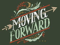 Moving Forward by Livy Long | #type #arrow #leaves