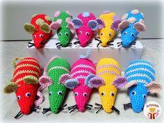 Diy Cat Toys, Crochet Mouse, Amigurumi Toys, Pet Beds, Crochet For Kids, Craft Tutorials, Guinea Pigs, Teacher Gifts, Dinosaur Stuffed Animal