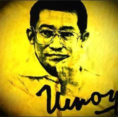 """Ninoy Aquino's death assassination was a saddened & painful memory in Philippines history. """"The pain of the little finger is felt by the whole body! Jose Rizal, August 21, Power To The People, My Past, Filipino, Happy Life, Philippines, Wednesday, Love Her"""