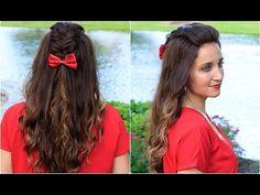 ▶ DIY Woven Faux Hawk | Cute Girls Hairstyles -#fauxhawk #braid #cutegirlshairstyles #haristyle
