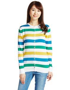 Amazon.co.jp: (ジョンスメドレー)JOHN SMEDLEY マルチボーダーカーディガン: 服&ファッション小物