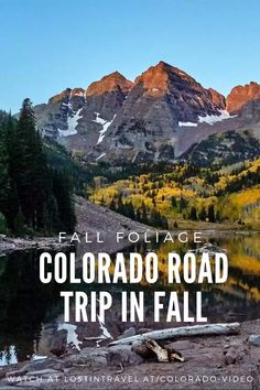 Fall colors in the Colorado Rockies with beautiful places like Aspen, the Hanging Lake, the breathtaking Maroon Bells in Aspen or the wonderful Million Dollar Highway. The fall foliage in Colorado is Road Trip To Colorado, Colorado Hiking, Colorado Rockies, Road Trip Usa, Usa Roadtrip, Silverton Train, Hometown Heroes, Aspen Trees, Chicago Tribune