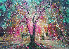 The Creation Tree by Energy Artist Julia Watkins http://www.etsy.com/listing/105666647/the-creation-tree-create-your-reality?