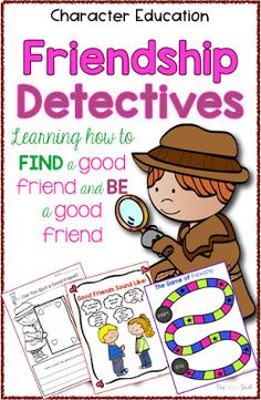 How to Find a Friend and BE a Friend - The Write Stuff Teaching Teaching Friendship, Friendship Lessons, Friendship Activities, Friendship Group, Teaching Social Skills, Social Studies Activities, Teaching Activities, Counselling Activities, Emotions Activities
