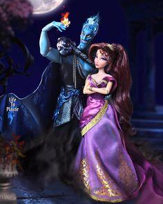 Megara Disney, All Disney Princesses, Disney Dolls, Disney Art, Disney Characters, Fictional Characters, Hades, Princesas Disney, Beautiful Dolls