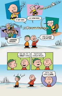 Music goes round 5 Peanuts Cartoon, Peanuts Gang, Peanuts Comics, Charlie Brown Quotes, Charlie Brown And Snoopy, Snoopy Love, Snoopy And Woodstock, Classic Comics, Classic Cartoons