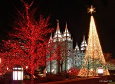 Temple Square Christmas Lights on imgfave