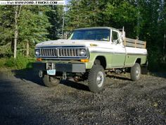 1974 f250 highboy truck   images of 1970 ford f250 4x4 highboy wallpaper