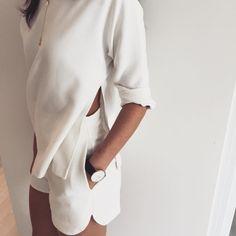 Side Split Top + Side Split Shorts #Saboskirt #SaboLuxe https://saboskirt.com/shop/product/side-split-top