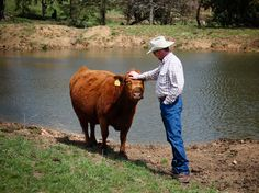 """Bill Miller, a part-time farmer in Aurora, Mo., says farming """"gets in your blood."""""""