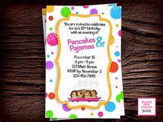 PANCAKE AND PAJAMAS Pancake and Pajama by BlissfulBethDesigns