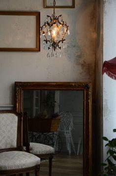 antique lighting lamp interior home decor French アンティーク インテリア 照明 ランプ フレンチアンティーク
