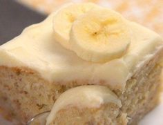 Wonderful Banana Cake to make for friends and family.