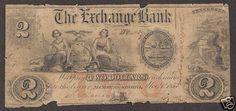 US $2 bill from Murfreesboro, TN 1853