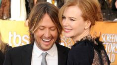Keith Urban dedicating a song to wife, Nicole Kidman, on their 8th wedding anniversary in Australia.