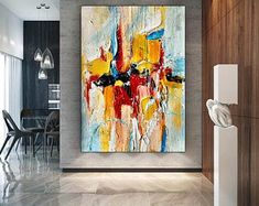 Extra Large Wall Art, Abstract Art, Canvas, Painting, Tela, Painting Art, Canvases, Paintings, Painted Canvas