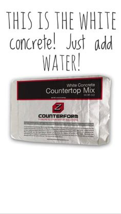 Click to see all the information in my highlights!!! Countertops - @therustedroost  White concrete countertops  Concrete countertop solutions White Concrete Countertops, Ads, Highlights, Luminizer, Hair Highlights, Highlight