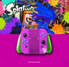 Joy Con Splatoon. If U like it, follow me on Twitter ! joycon, nintendo switch, dock, joy-con