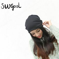 [SWGOOL] Skullies & Beanies Hot Sale 2017 new Fashion hat Women winter hat knitted hat winter hat knitted women's caps  #love #iwant #beauty #glam #sweet #cool #swag #stylish #beautiful #fashionista