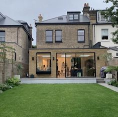 London Property, Rear Extension, House Extensions, Victorian Homes, Facade, Lawn, New Homes, The Incredibles, Patio