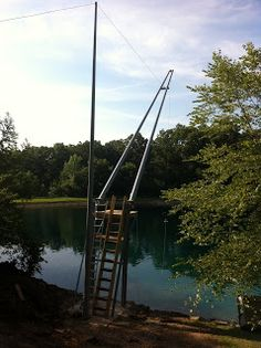 Herman Brothers Blog: Perfect Pond Rope Swing